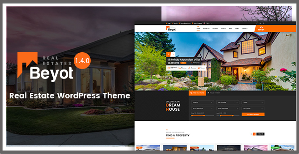 BEYOT –  Real Estate WordPress Theme