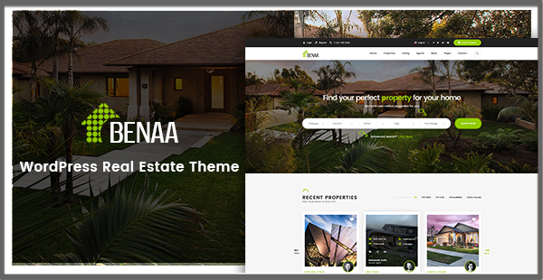 BENAA – Innovative Real Estate Theme