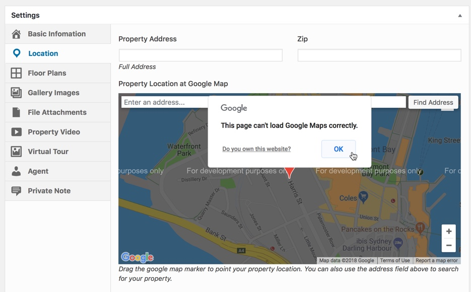 Google Maps shows error 'For development purposes only ... on grand gulch primitive area map, imaginary world map, id map, mx map, ae map,